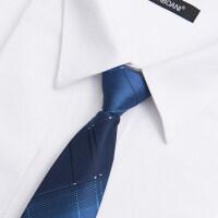 领带男正装商务8cm职业一易拉得拉链免打新郎结婚庆懒人韩版英伦
