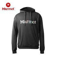 【开学季】Marmot/土拨鼠户外运动休闲柔软保暖男士卫衣