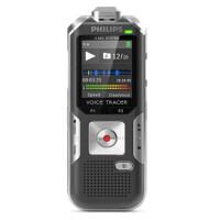 飞利浦(PHILIPS)DVT6000原装韩国进口自动变焦PCM线性高清远距离录音笔 支持FM收音 可扩卡