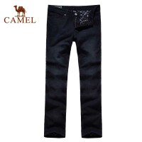 CAMEL�� 男�b�子 保暖秋冬新品 加�q休�e牛仔�2F47008