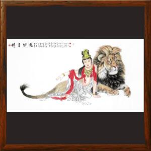 1.8米《吼狮音佛》王辰立-河南美协会员,商丘美协理事【HOOML2512】