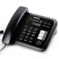 松下(Panasonic)KX-TS328CN炫彩屏来电显示电话机家用办公座机(黑色)