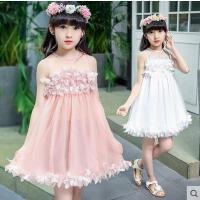 雪纺连衣裙儿童童装女童裙子户外新款韩版时尚公主裙休闲百搭小女孩裙子