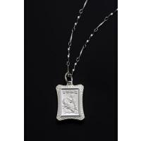 十二生肖护身项�-虎(990纯银)《含开光》财神小铺【SC-20089-3】王者之气、聪敏显贵