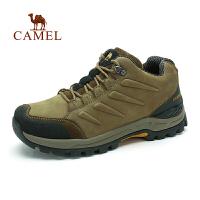 Camel骆驼 户外男士登山鞋 新款耐磨减震低帮徒步登山鞋 户外鞋子