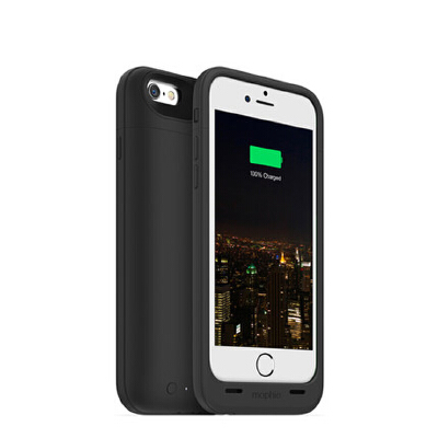 mophie iPhone6s苹果6手机壳4.7寸通用背夹电池充电宝电源3300mah毫安 三防保护 内置缓冲点 苹果6S/6 专属伴侣