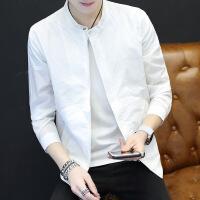 新款防晒衣男超薄透气男士防晒服修身薄款韩版夹克外套透气2018新款帅气防晒衣潮