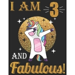 预订 I Am 3 And Fabulous!: 3 and Fabulous Birthday Gift, 3rd