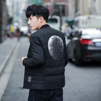 冬季男士棉衣短款外套韩版修身棒球棉服气青年棉袄时尚潮流衣服