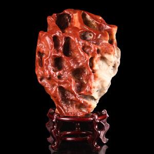 《5600g鸿运当头聚财寿山原石摆件》天然寿山石取巧全手工精雕寓意吉祥