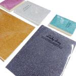 80页时尚胶套办公横线记事本 多彩塑料胶皮学生可爱笔记本子