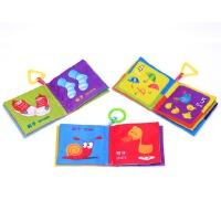 0-1-3岁宝宝早教布书婴儿幼儿撕不烂带响纸儿童布书益智启蒙玩具