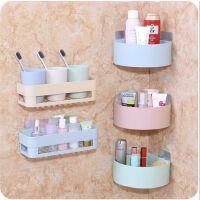 置物架胶贴卫生间 厨房壁挂沥水储物架浴室收纳架三角架