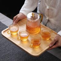 玻璃茶�剡^�V�h逸杯泡茶�剞k公室茶水分�x茶具套�b