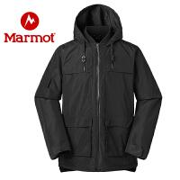 marmot土拨鼠19秋冬新款户外防风舒适保暖男式休闲棉服上衣