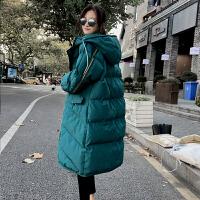 韩版宽松冬季外套2019年孕后期大码棉袄孕妇冬装棉衣