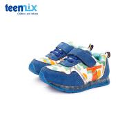 【159元任选2双】天美意teenmix童鞋男童休闲学步鞋宝宝鞋灯鞋 CX6165
