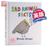 动物悲伤事实 英文原版 是我把你弄哭了吗 英文版漫画 英文版英文书 动物科学 Sad Animal Facts Bro
