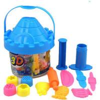 智高3D彩泥 24色城堡橡皮泥无毒环保不干 可当零钱罐~DD-5025#