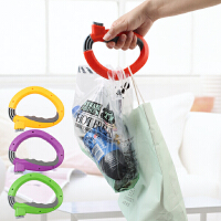 便携式买菜器不勒手提菜器D型提物器开合式手提器购物袋拎袋工具 颜色随机