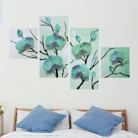 3D立体仿真墙花创意温馨装饰客厅卧室房间床头贴画自粘墙贴纸墙画