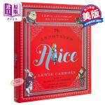 【中商原版】爱丽丝150周年豪华版 英文原版 The Annotated Alice