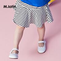 【秒杀价:49元】马拉丁童装女小童连裤短裙夏新款内衬安全裤型舒适儿童腰裙