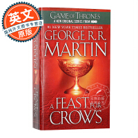 群鸦的盛宴 冰与火之歌4 英文原版 A Feast for Crows: A Song of Ice and Fire
