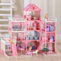 �和�玩具女孩益智娃娃屋女童小玲小孩智力�_�l�幽X3-4-5生日�Y物6