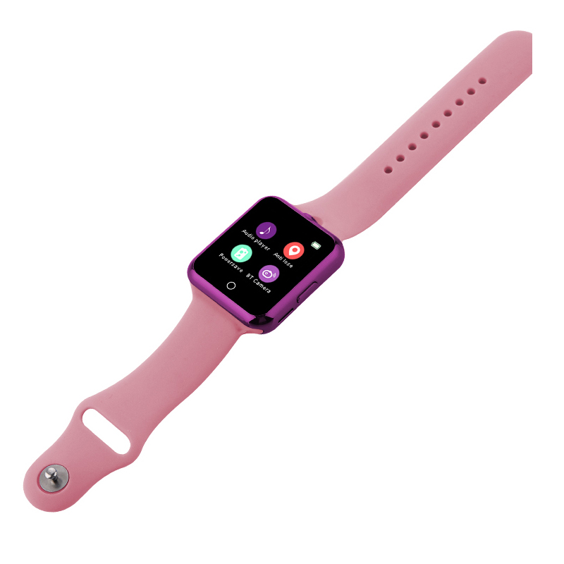 智能手表手机插卡拍照计步心率睡眠防丢成人儿童电话手表 心率监测 远程同步 计步 久坐提醒 睡眠监测