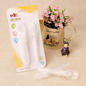 日康婴儿滴管式喂药器防呛宝宝带刻度给幼儿童吃喂水勺用品 3609