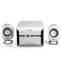 Edifier/漫步者 E2100 木质2.1电脑多媒体脑音箱 低音炮有源音响