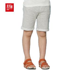 jjlkids季季乐童装男童休闲舒适透气清凉夏季中小童针织五分裤