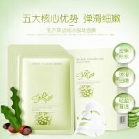 袋鼠妈妈 乳木果幼润水磁场面膜补水保湿孕妇护肤品(盒装)(25g*18片)