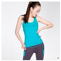 新款瑜伽服健身房女速干运动套装含胸垫显瘦两件套 可礼品卡支付