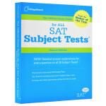【中商原版】SAT官方科目学习指南(第二版)英文原版 The Official Study Guide for All