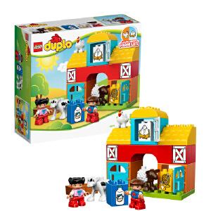 [当当自营]LEGO 乐高 duplo得宝系列 我的第一座农场 积木拼插儿童益智玩具 10617