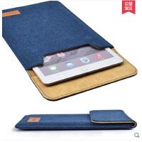 苹果ipad5/6air1/2牛仔内胆包mini3/4保护套壳9.7寸pro皮套mini袋