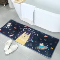 祥然 家用组合卡通入户地垫客厅茶几脚垫 卫生间门垫床边地毯浴室吸水防滑垫