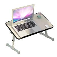 老睢坊 床上小桌子可折叠桌简易家用小桌板懒人书桌大学生宿舍笔记本电脑