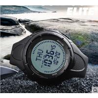 个性户外运动男士防水电子表指南针倒计时多功能男学生腕表
