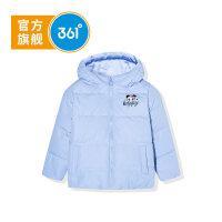 【618抢购价:79】【商场同款】361度女童羽绒服外套2020冬季新品纯色保暖羽绒外套K61944902