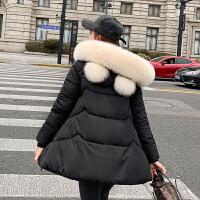 孕妇冬装怀孕后期棉衣服外套2019冬季新款宽松中长款棉袄