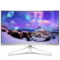 飞利浦(PHILIPS)曲悦系列278C7QJSW 27英寸MVA面板1800R曲率预置HDMI、DP接口电脑液晶显示