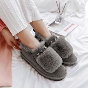 O'SHELL欧希尔新品113-XC-3韩版磨砂绒面女士雪地靴
