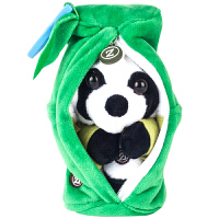 【当当自营】Zoobies如比玩具 毛绒翻转球 竹子熊猫亚光毛绒玩具 TP112