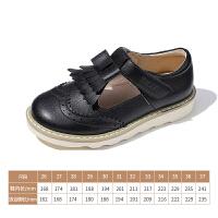 【199元任选2双】百丽童鞋女童皮鞋2020秋季新品中大童学生鞋儿童演出鞋英伦校园鞋
