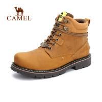 camel骆驼户外鞋 男款高帮 耐磨休闲鞋