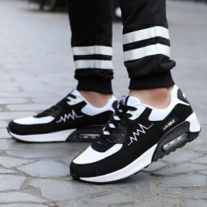 领舞者慢跑鞋情侣百搭透气网布气垫鞋运动休闲跑步鞋