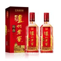 【酒界网】52度 泸州老窖 特曲 500ml * 2瓶